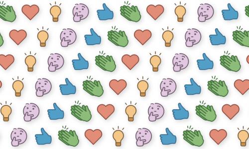 Nieuwe emoji's om te reageren op LinkedIn: vervagen de grenzen tussen LinkedIn en Facebook & co?